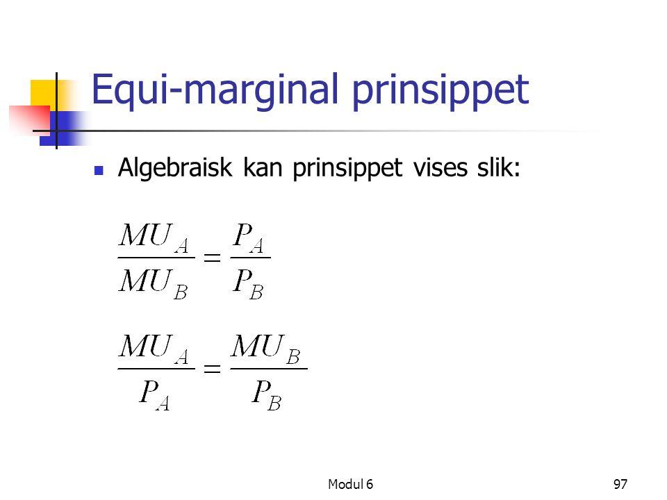 Equi-marginal prinsippet