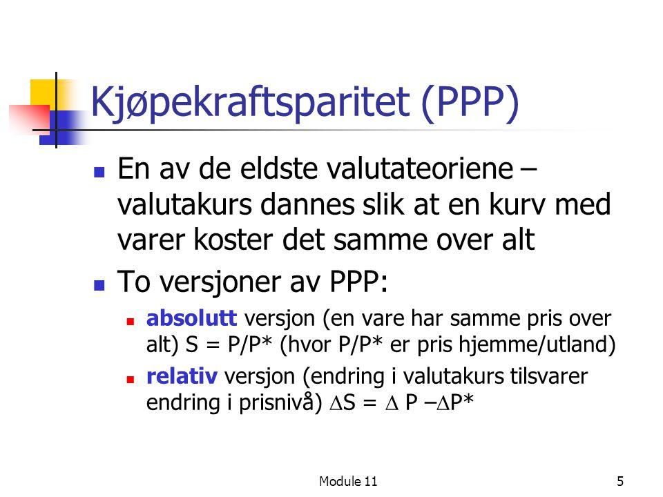Kjøpekraftsparitet (PPP)