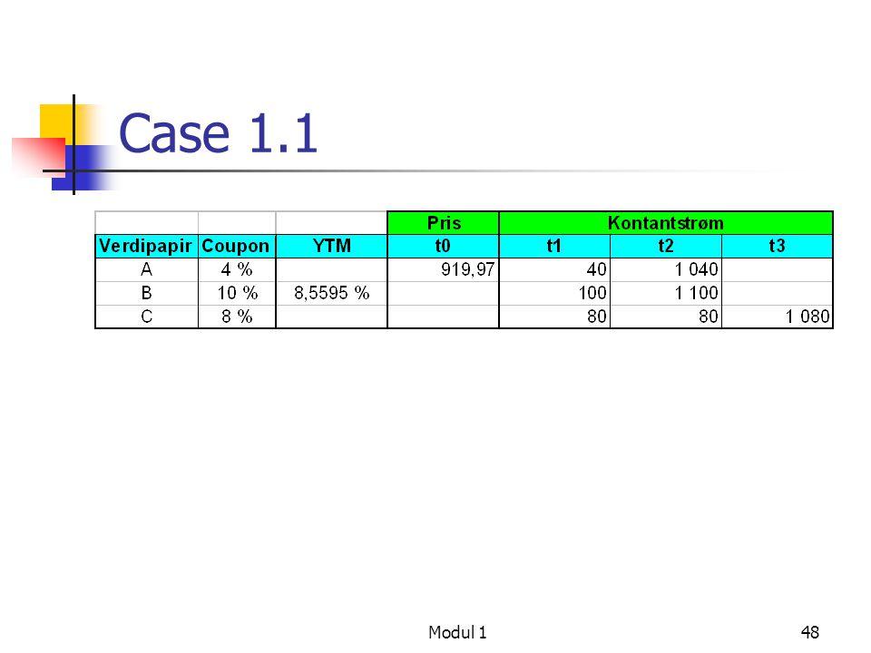 Case 1.1 Modul 1