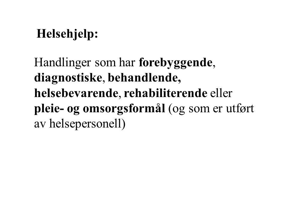 Helsehjelp: