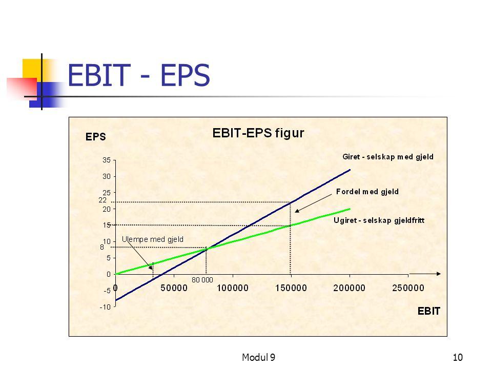 EBIT - EPS Modul 9
