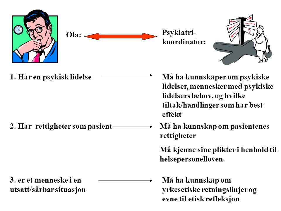 Psykiatri-koordinator: