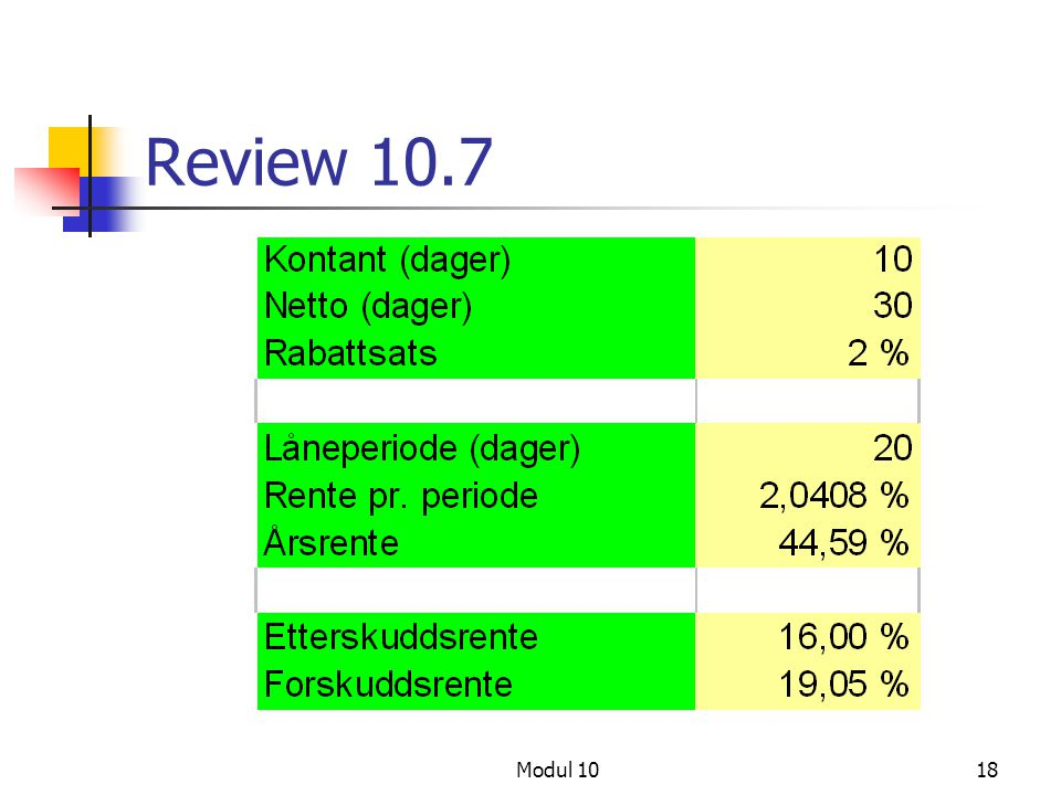 Review 10.7 Modul 10