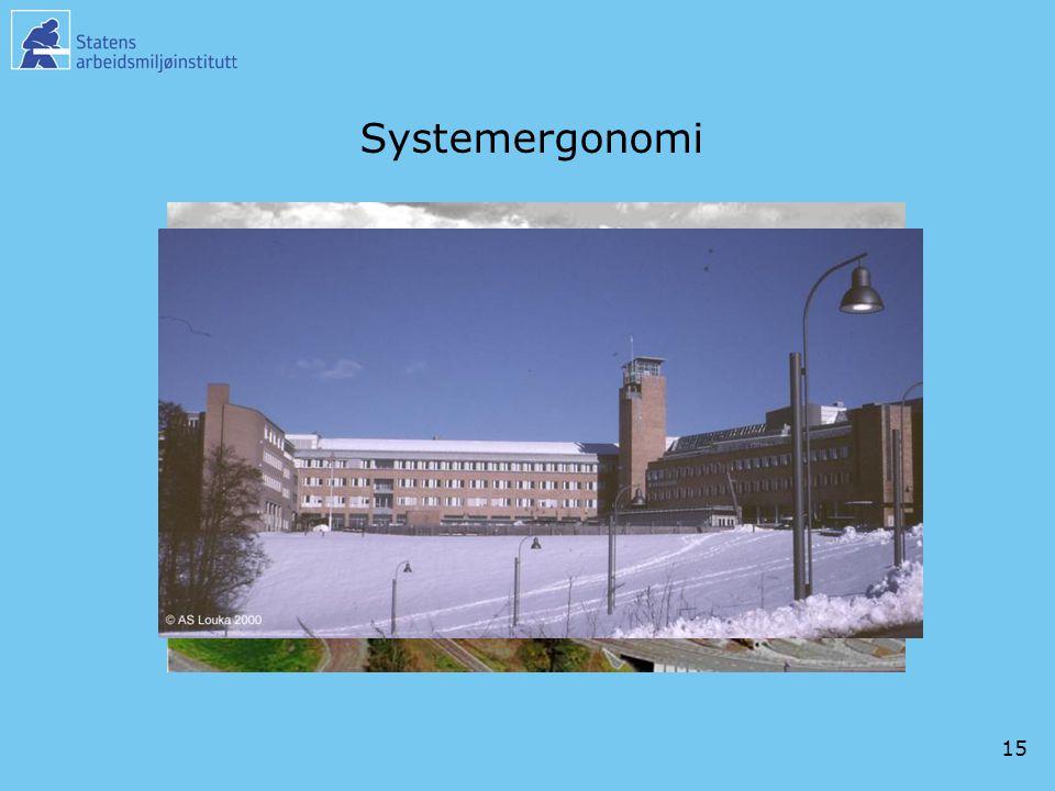 Systemergonomi