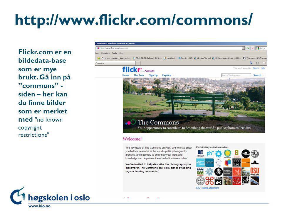 http://www.flickr.com/commons/