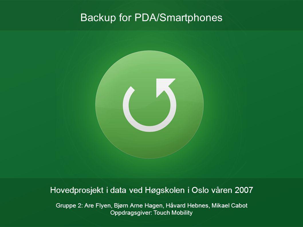 Backup for PDA/Smartphones
