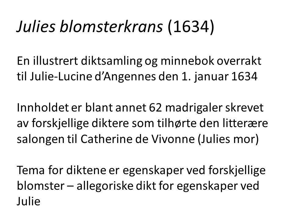 Julies blomsterkrans (1634)