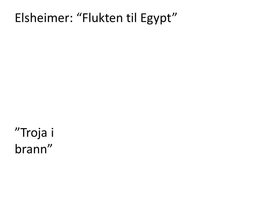 Elsheimer: Flukten til Egypt