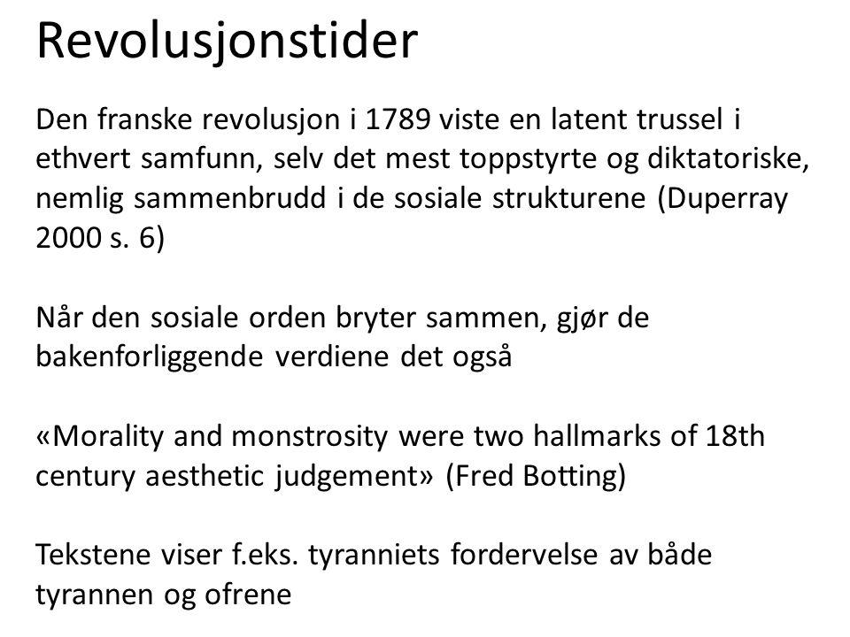 Revolusjonstider