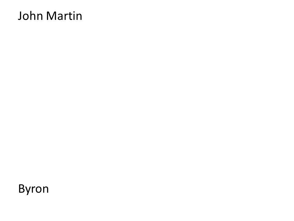 John Martin Byron