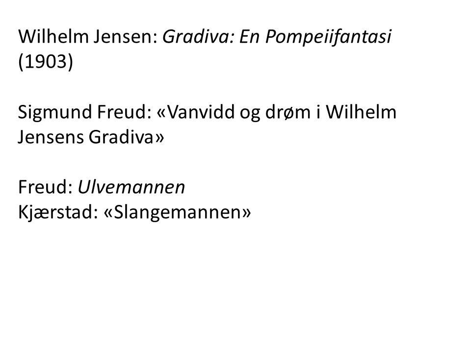 Wilhelm Jensen: Gradiva: En Pompeiifantasi (1903)