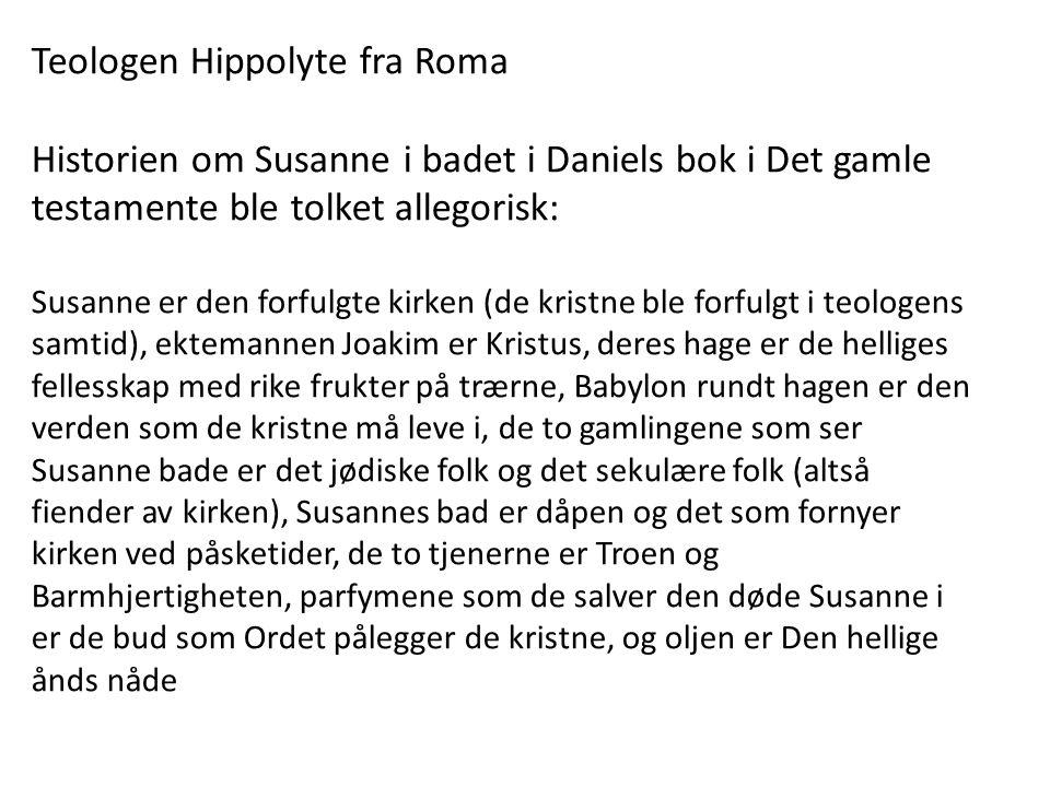 Teologen Hippolyte fra Roma