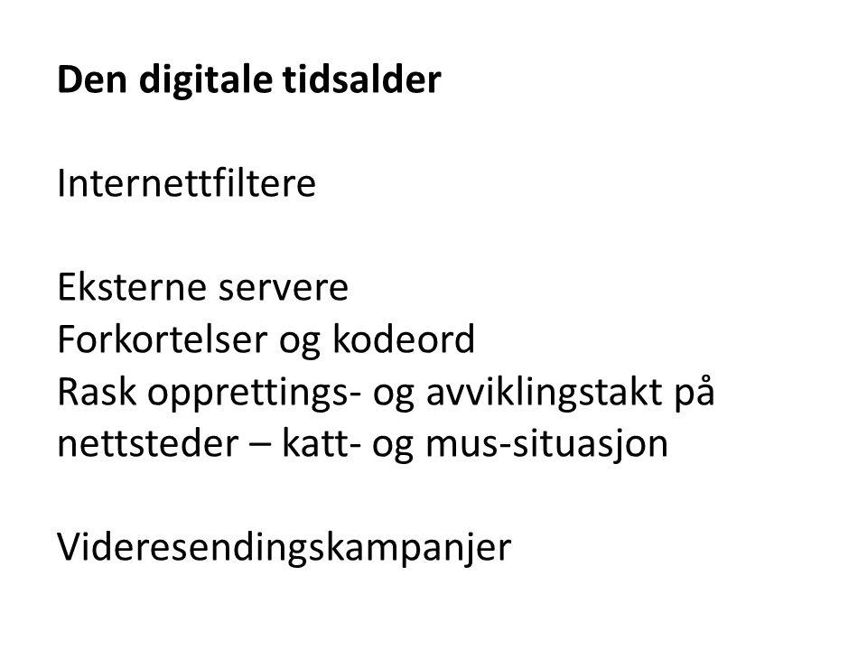 Den digitale tidsalder