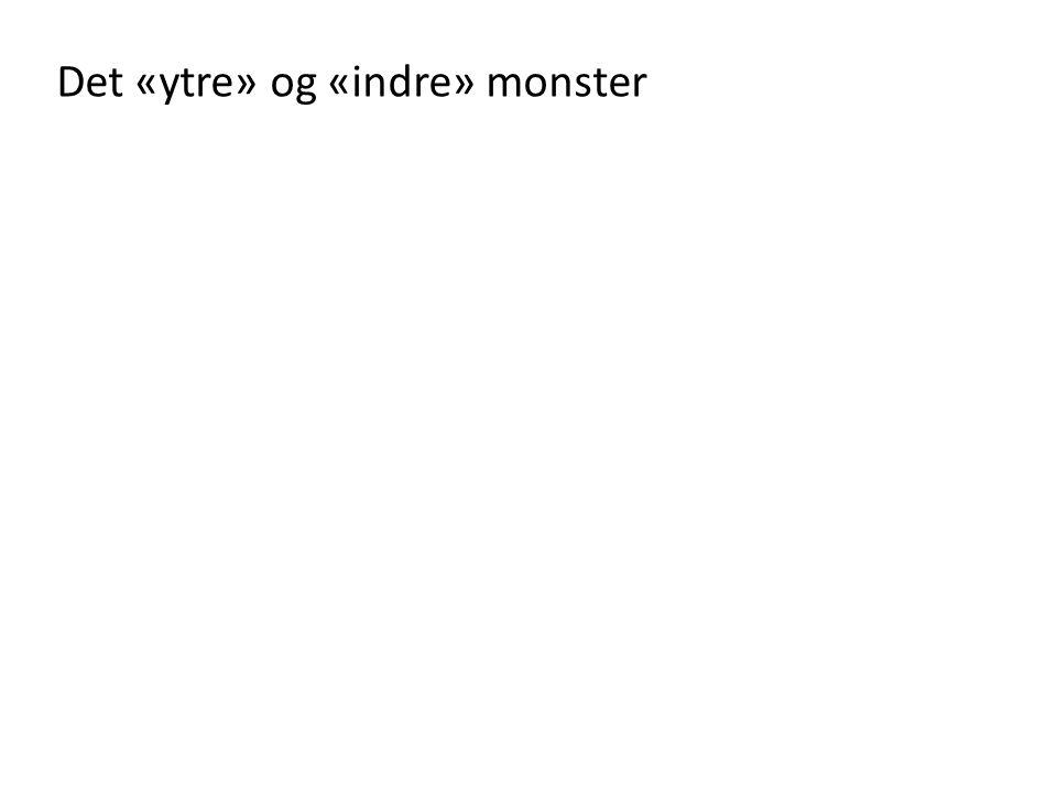 Det «ytre» og «indre» monster