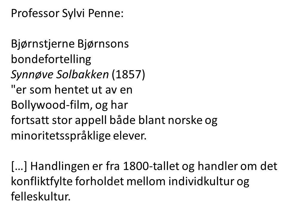 Professor Sylvi Penne: