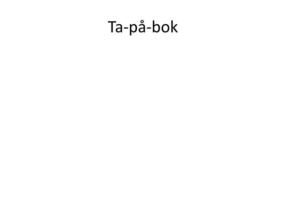 Ta-på-bok