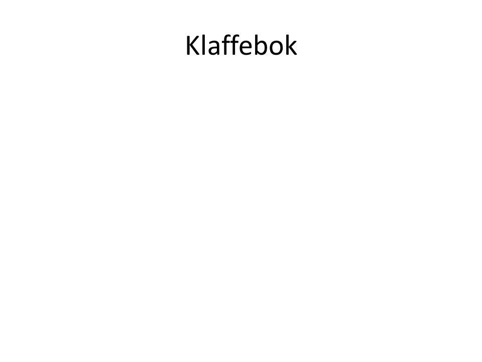 Klaffebok