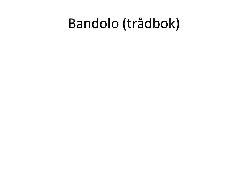 Bandolo (trådbok)