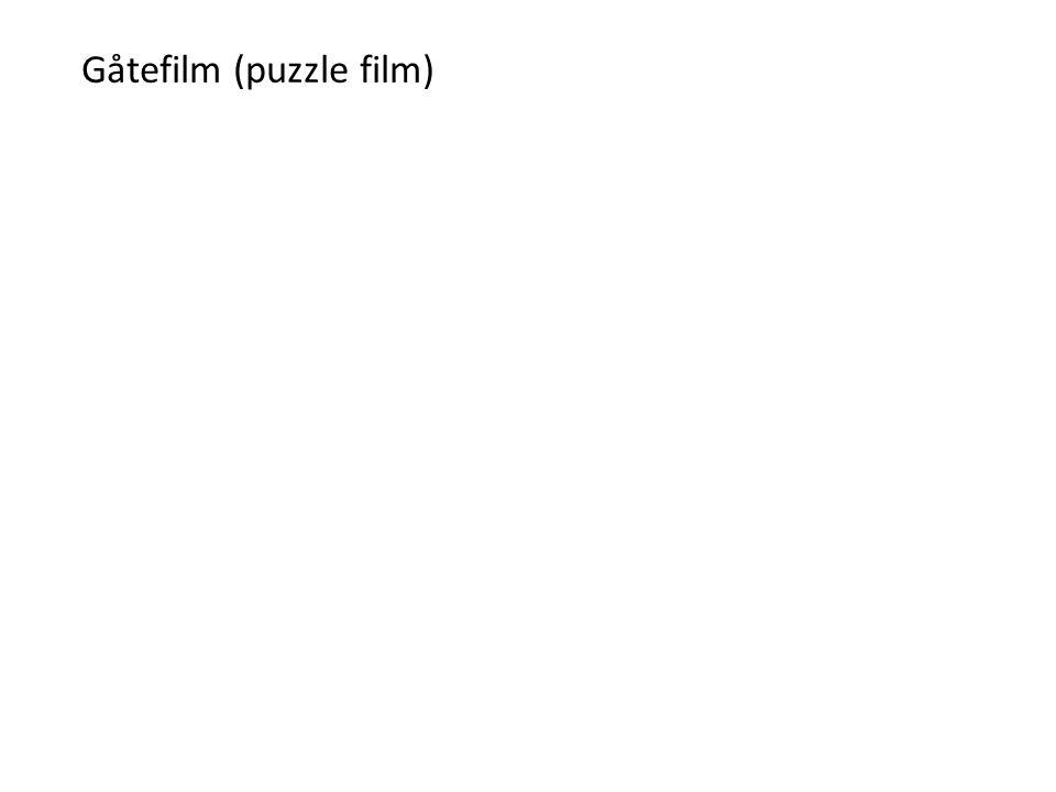 Gåtefilm (puzzle film)