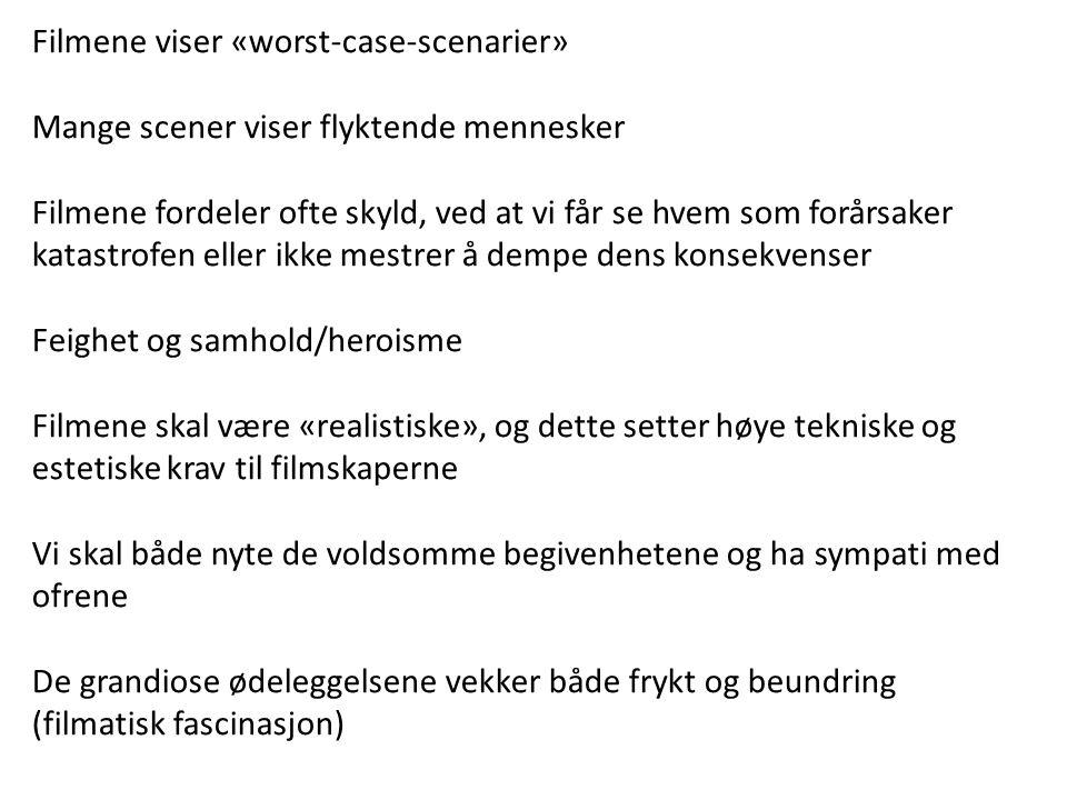 Filmene viser «worst-case-scenarier»