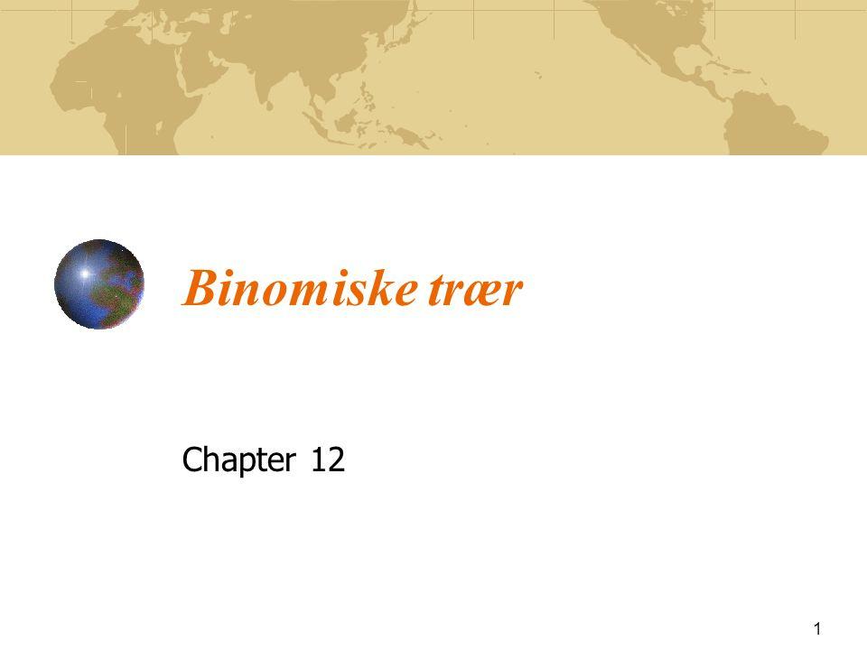 Binomiske trær Chapter 12