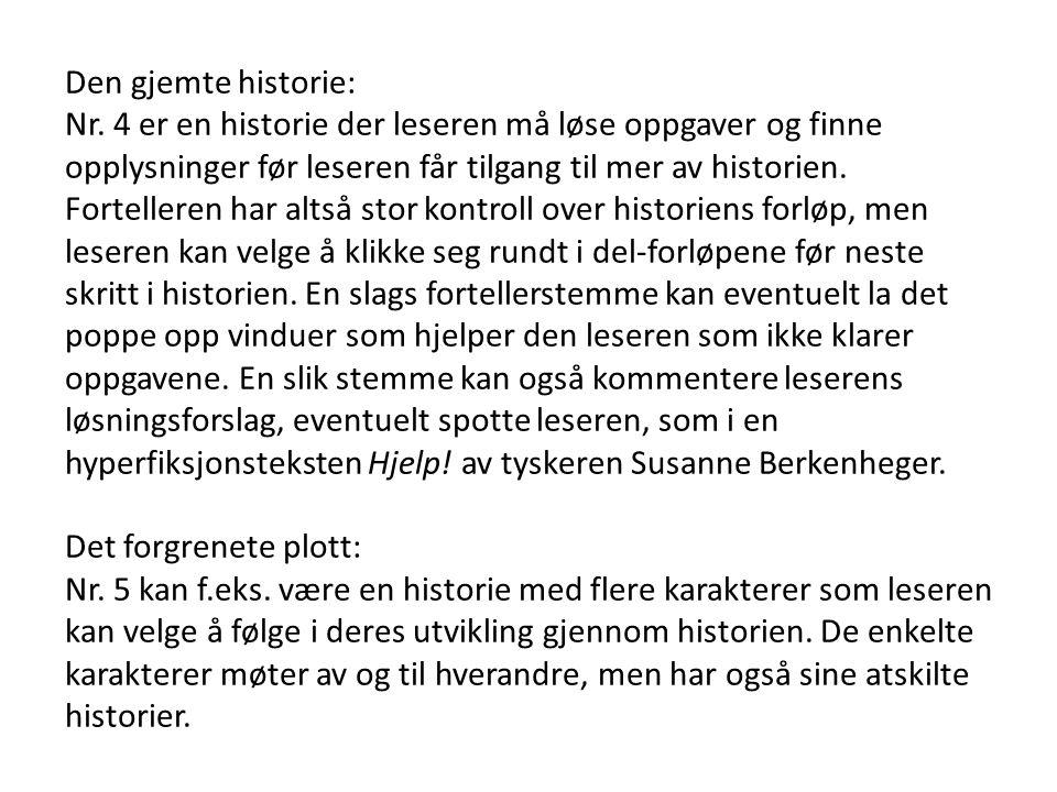 Den gjemte historie: