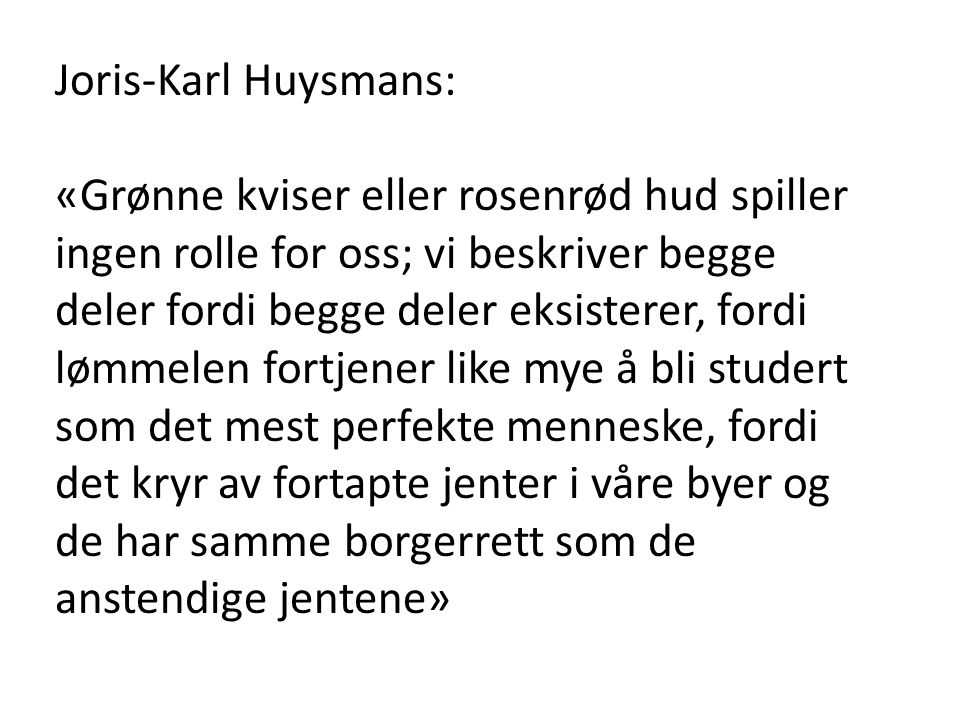 Joris-Karl Huysmans: