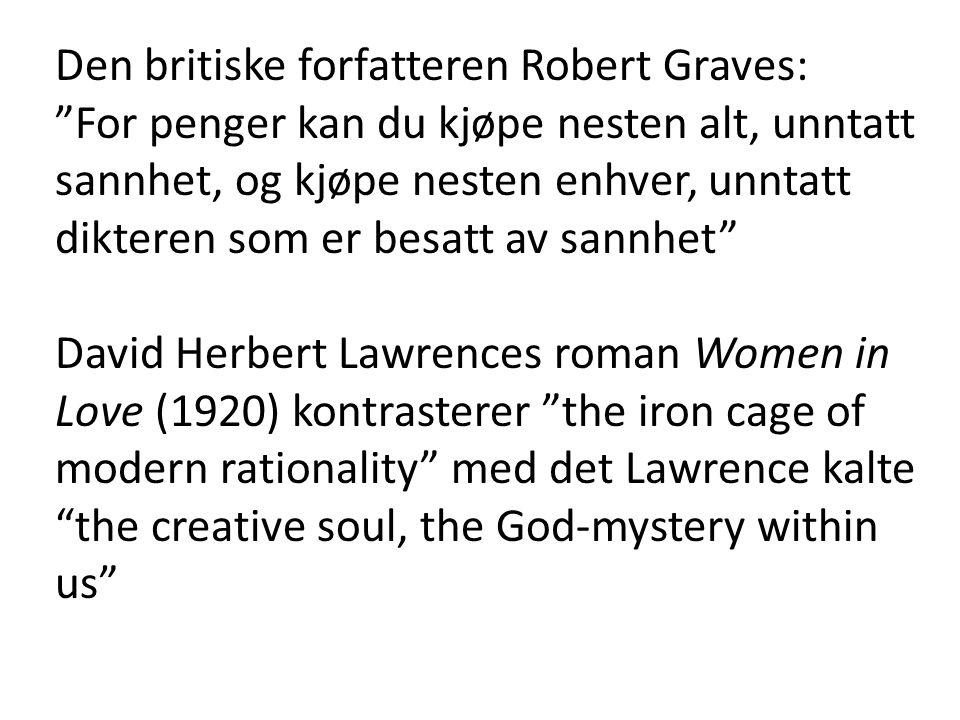 Den britiske forfatteren Robert Graves: