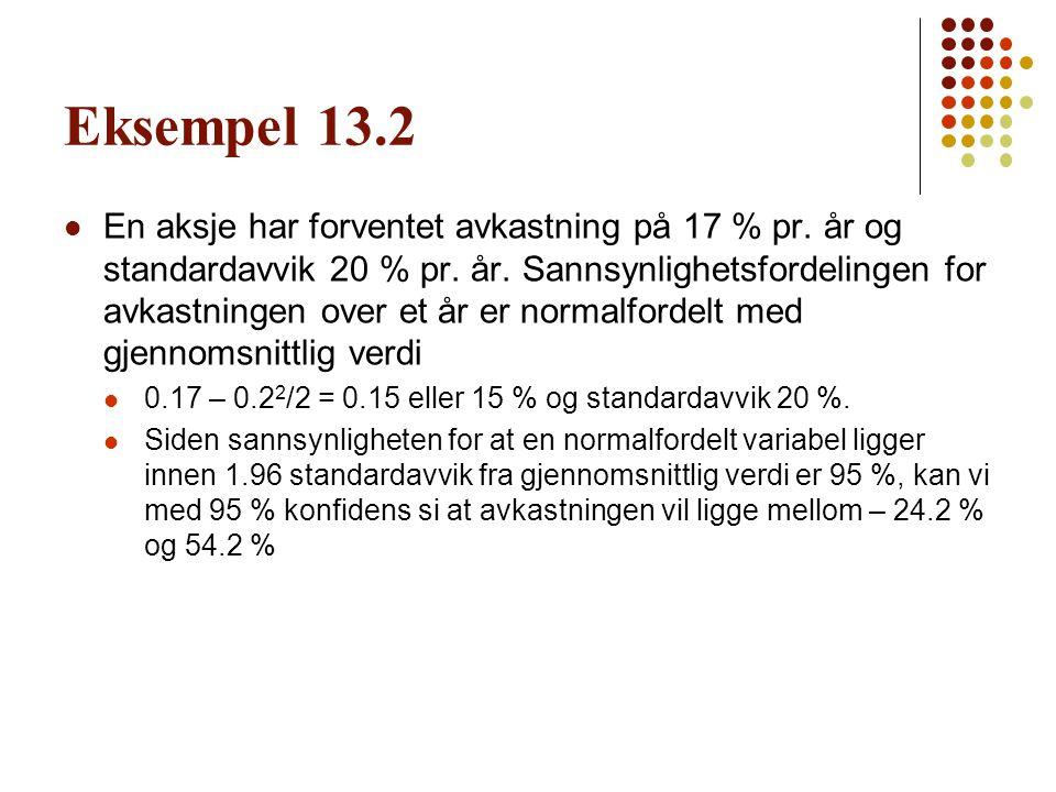 Eksempel 13.2