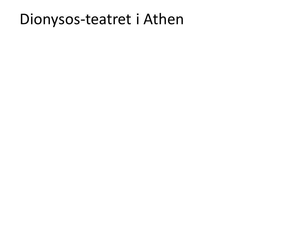 Dionysos-teatret i Athen