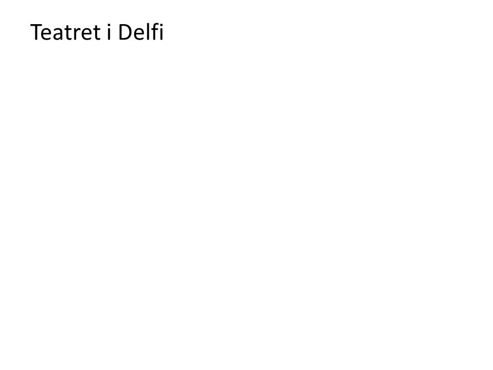 Teatret i Delfi