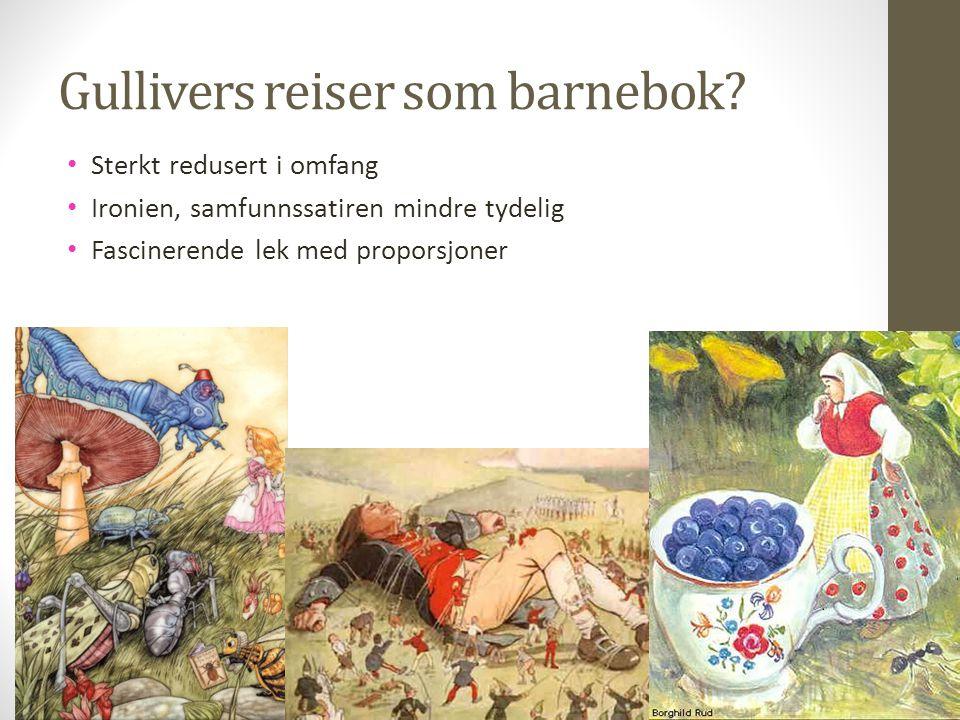 Gullivers reiser som barnebok