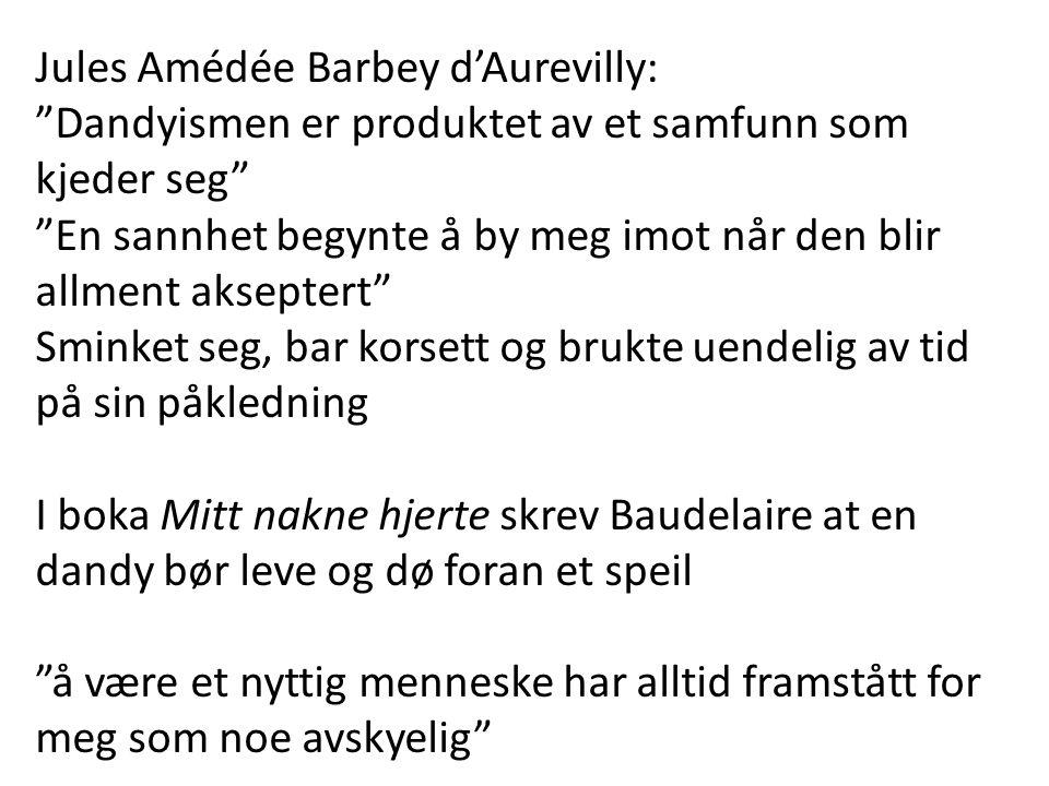 Jules Amédée Barbey d'Aurevilly: