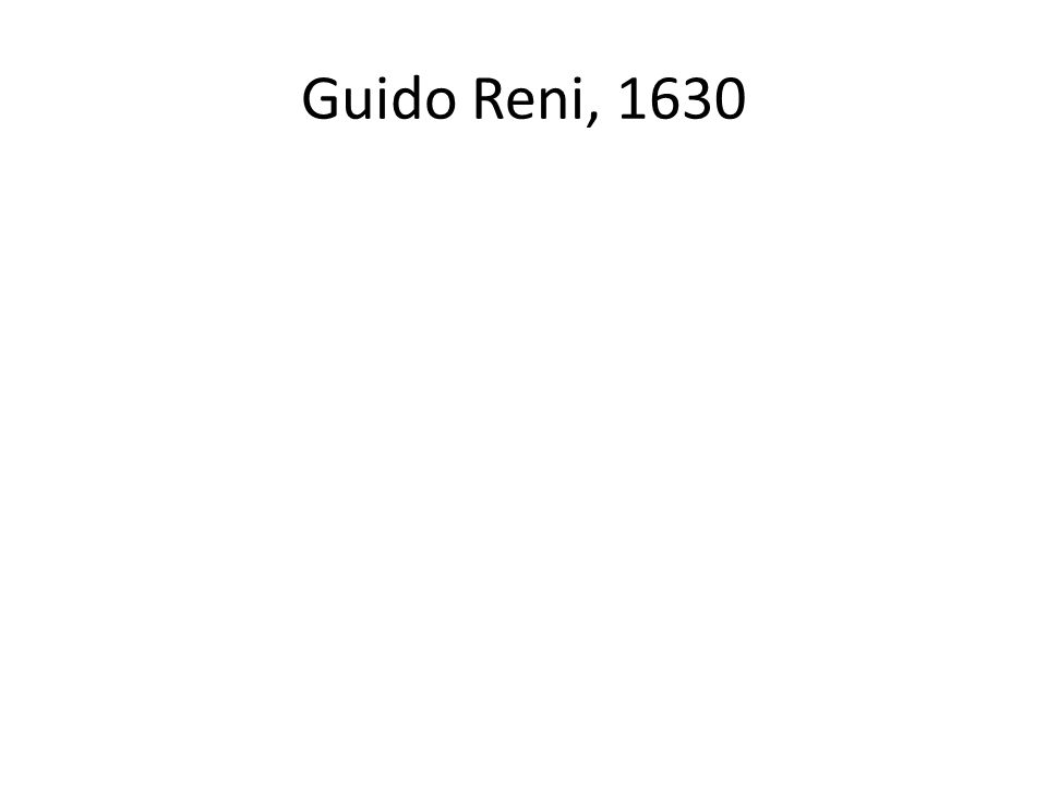Guido Reni, 1630