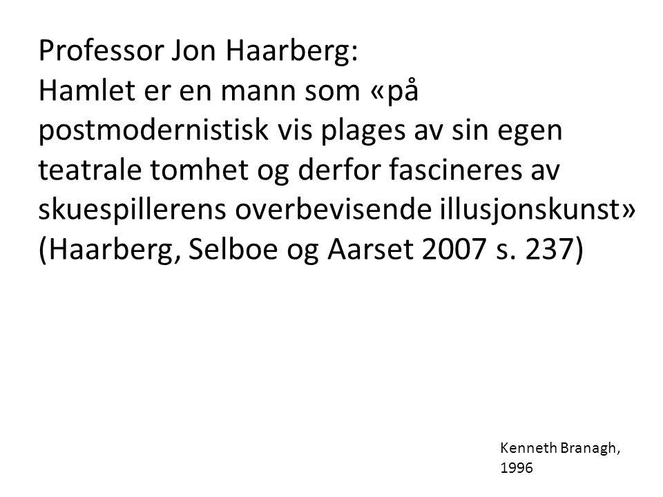 Professor Jon Haarberg: