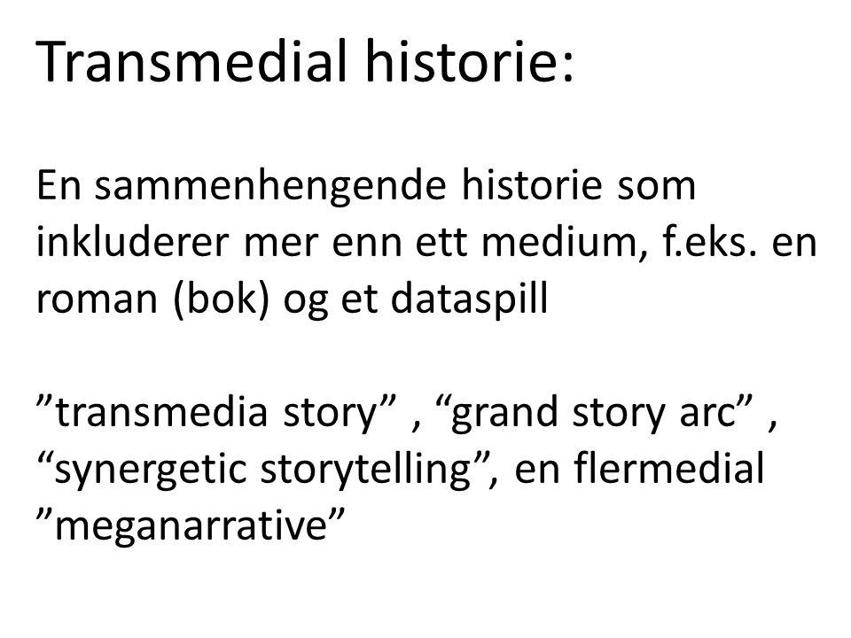 Transmedial historie: