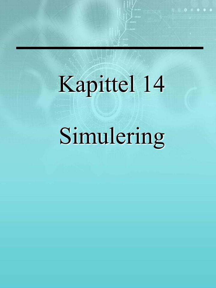 Kapittel 14 Simulering