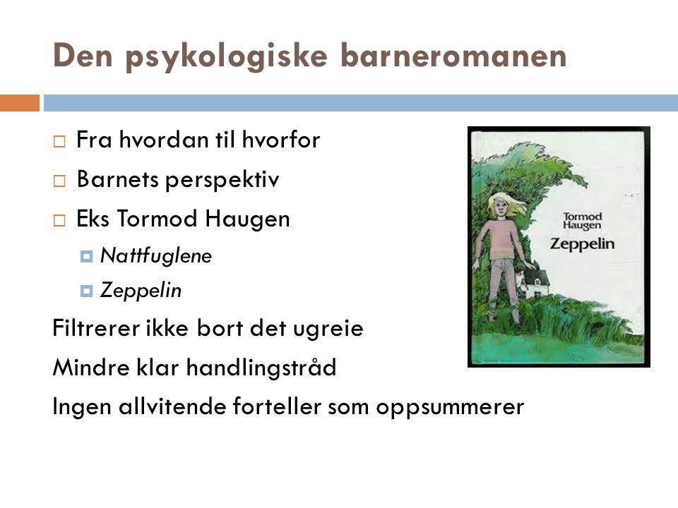 Den psykologiske barneromanen
