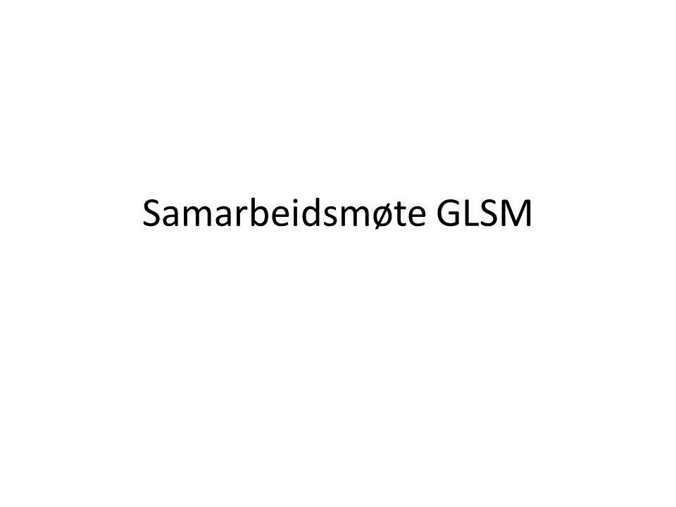 Samarbeidsmøte GLSM
