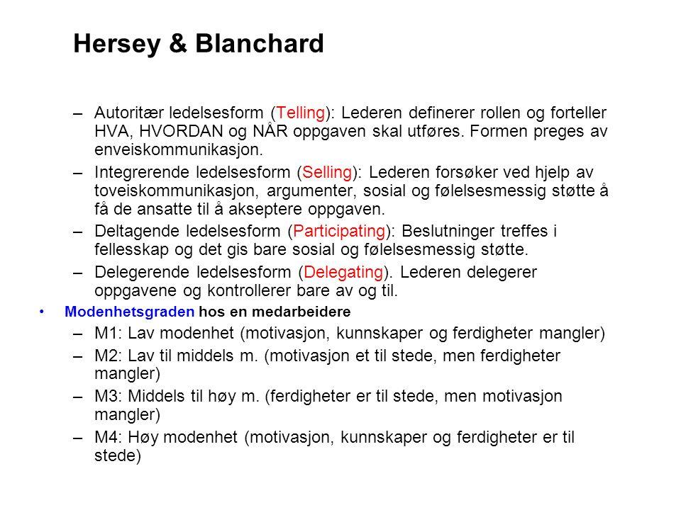 Hersey & Blanchard
