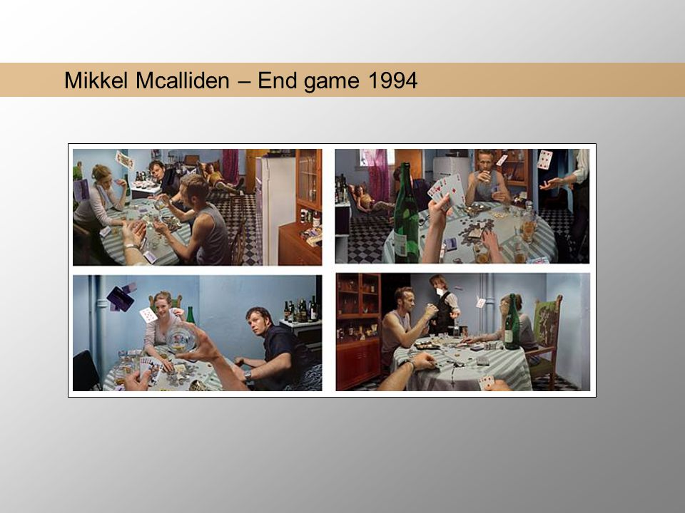 Mikkel Mcalliden – End game 1994
