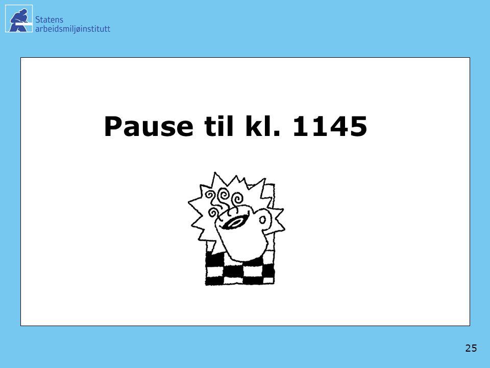 Pause til kl. 1145