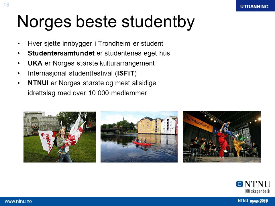 Norges beste studentby