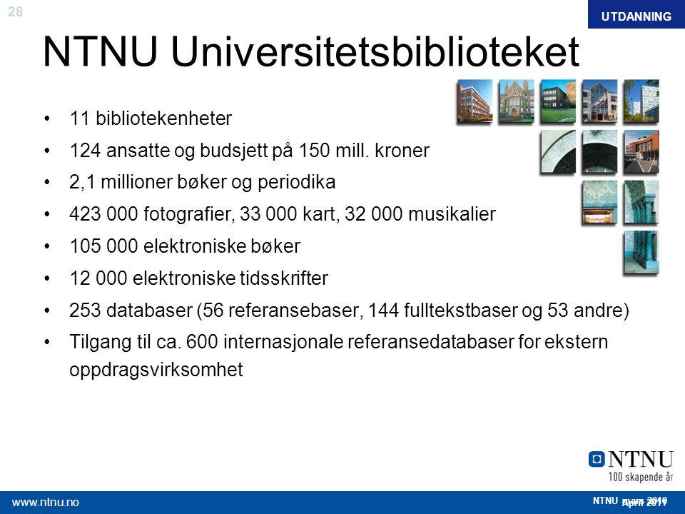 NTNU Universitetsbiblioteket