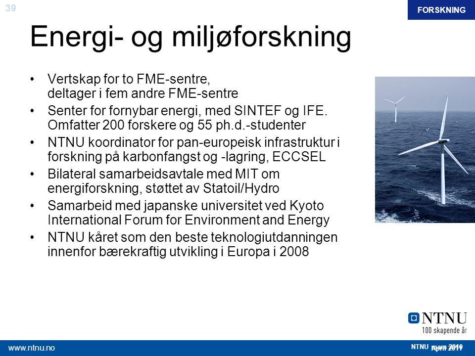 Energi- og miljøforskning
