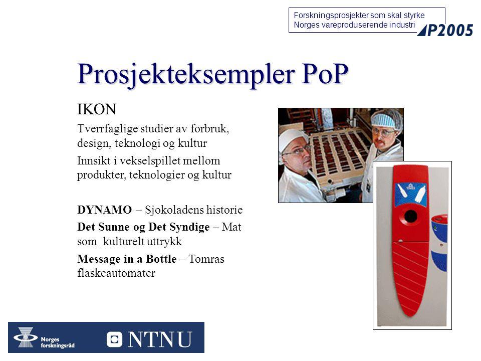 Prosjekteksempler PoP