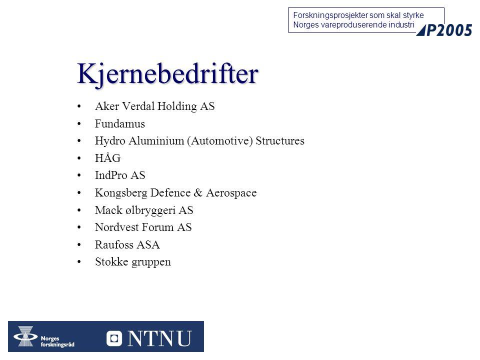 Kjernebedrifter Aker Verdal Holding AS Fundamus