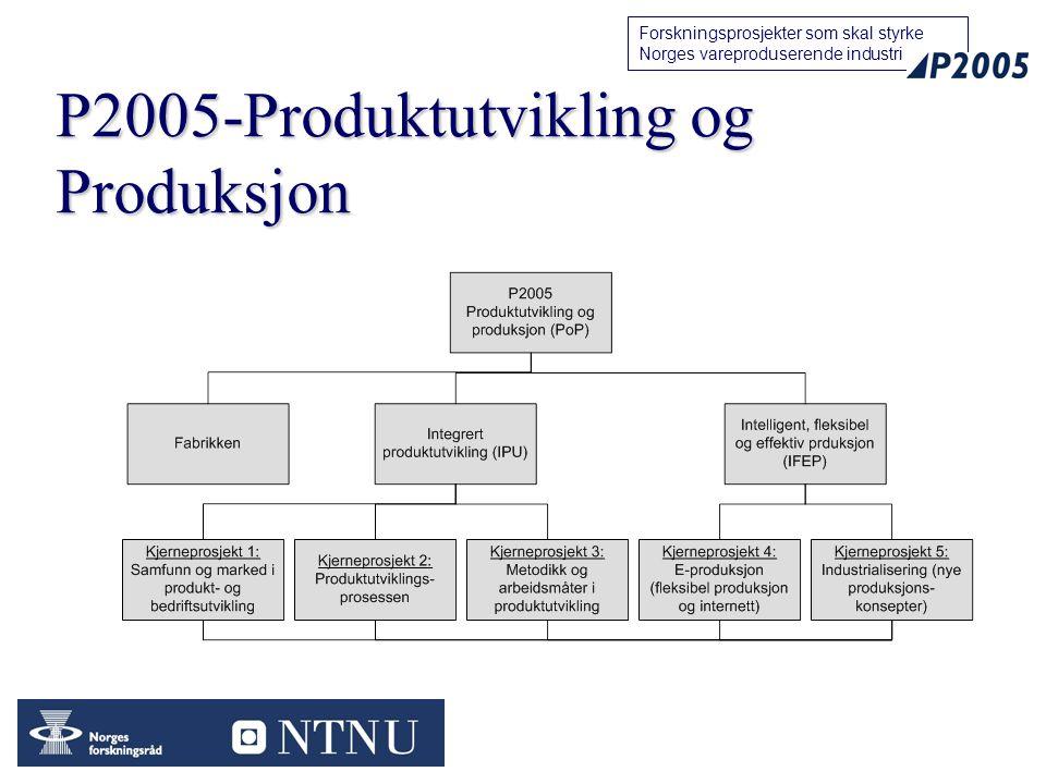 P2005-Produktutvikling og Produksjon
