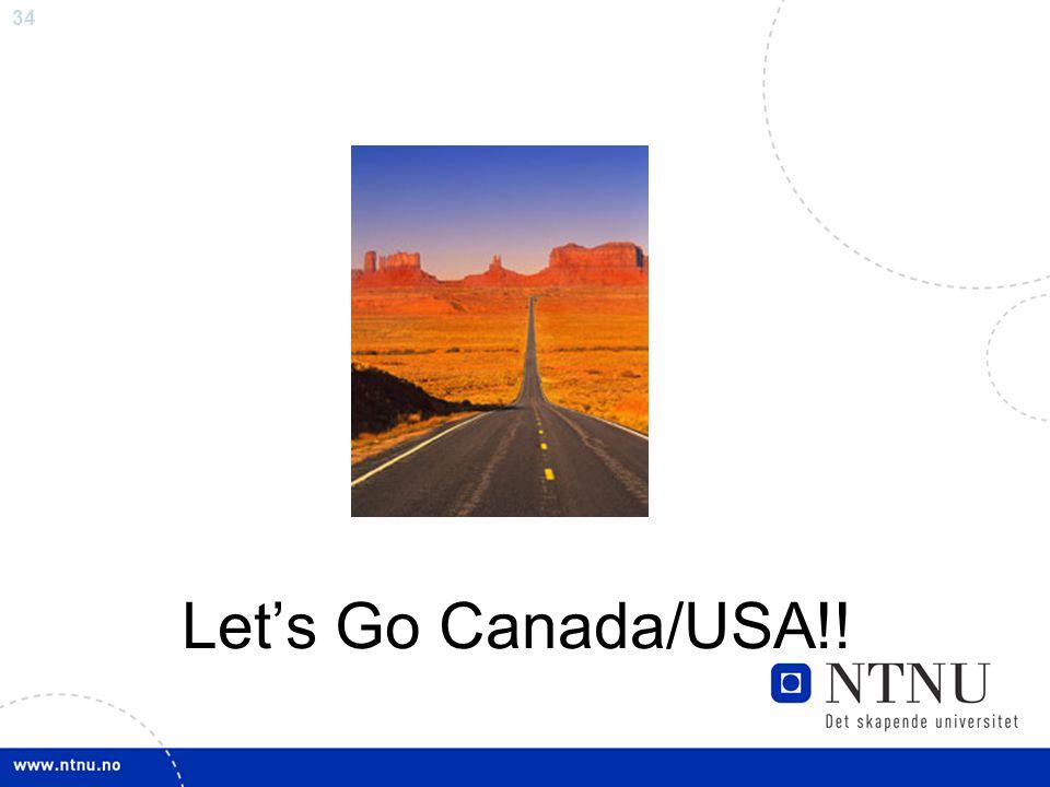 Let's Go Canada/USA!!