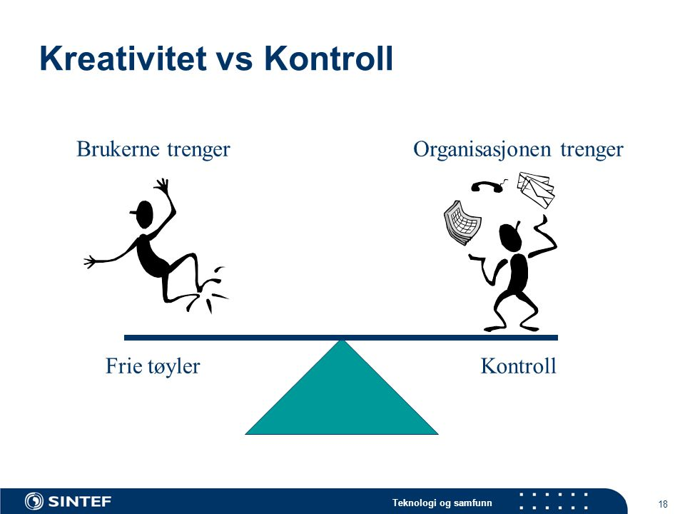 Kreativitet vs Kontroll